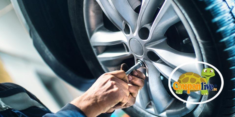 TARANTO. Check-up Gomme con Equilibratura e Convergenza  per un' auto a soli Euro € 9,90, da Ancona Gomme.