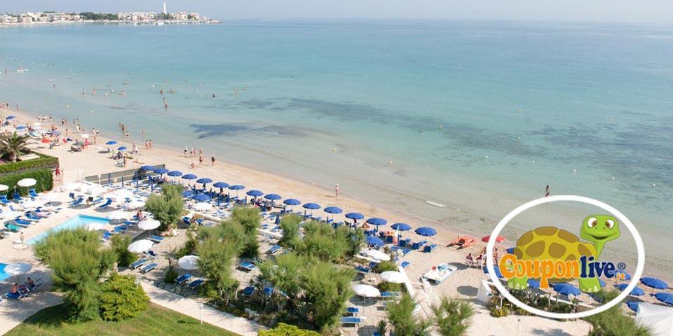 SPECIALE 2 GIUGNO. 1 o 2 Notti  in Mezza Pensione con utilizzo della piscina e della spiaggia da soli Euro 129,00 a coppia, da Hotel Sierra Silvana.