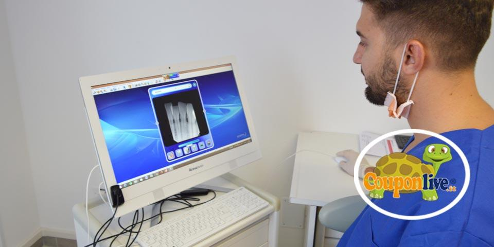FOGGIA. Visita Dentistica con Detartrasi, Smacchiamento e Radiografia Panoramica da soli Euro 19,00 a persona, dal Dott. Giuseppe Di Conza.