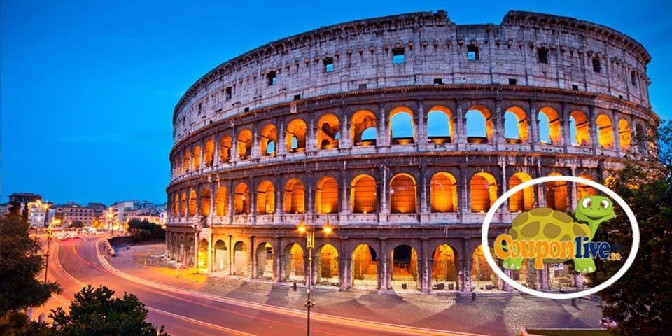ROMA. Volo A/R da Bari, 3 Giorni e 2 Notti dal 5 al 7 Novembre 2021, a soli Euro 185,00 a persona.