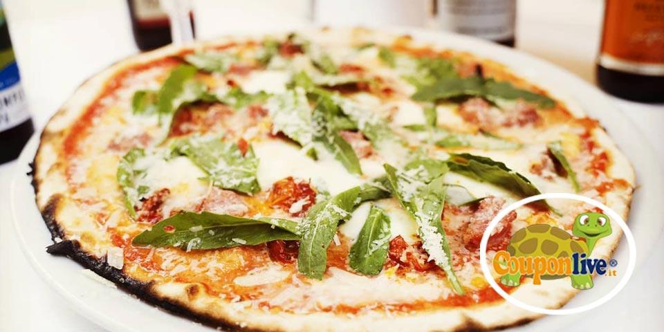 BARI. Menù Pizza  valido tutti i giorni  a soli Euro 19,00 a coppia, da Ristorante Borgo Antico