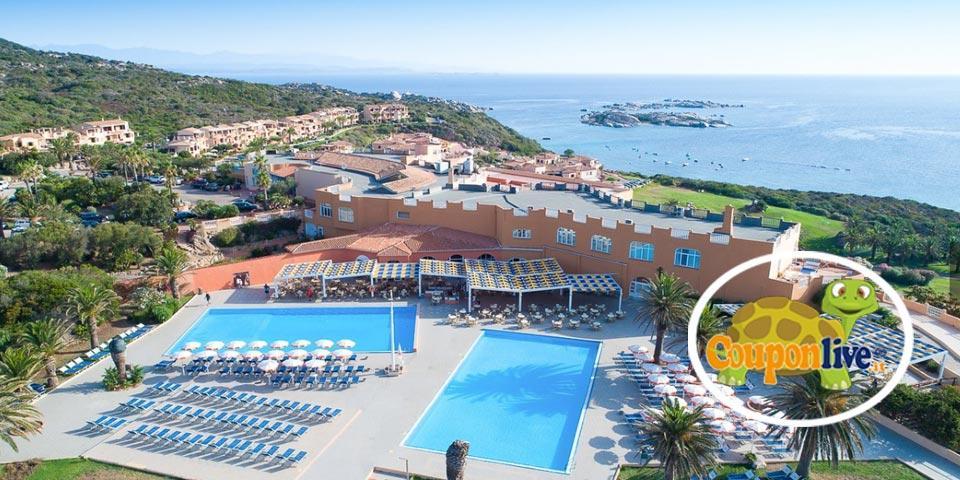 PRENOTA PRIMA,dal 2 al 9 Luglio a Santa Teresa di Gallura(Sardegna), 7 Notti in Pensione Completa da Euro 820,00 a persona, da Marmorata Village.