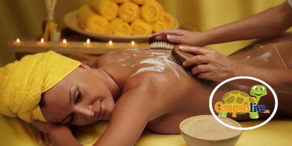 BARLETTA. 1 Massaggio Relax con Scrub corpo e Trattamento viso a soli Euro 24,00 a persona, da Corvasce Beauty.