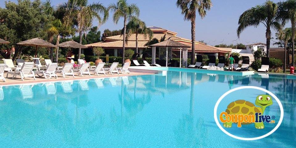 CATANZARO. Week - end di una notte e due giorni in mezza pensione all inclusive a soli � 80.00 a coppia! Presso Villaggio Santandrea Resort!