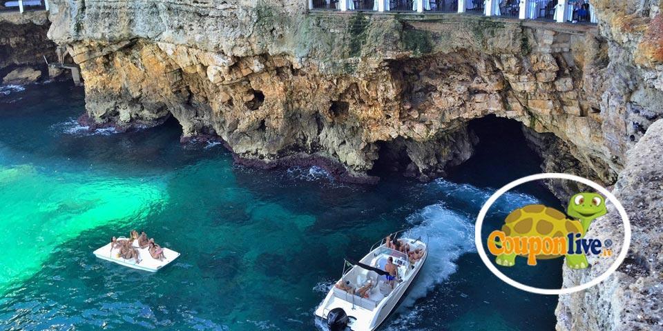 CASTRIGNANO DEL CAPO (LE). Escursione in barca con 1 sosta bagno da soli Euro 20,00 a persona, da Leuca in Barca.