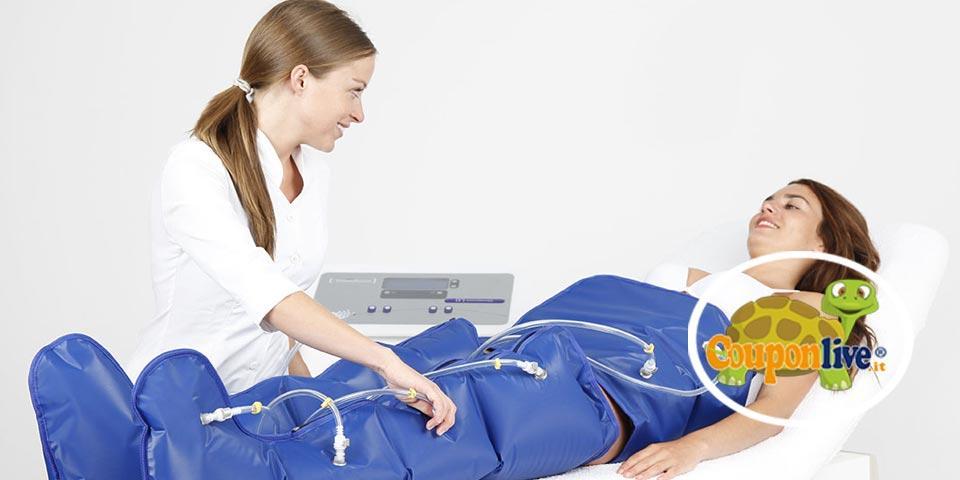 TRANI. 5  Sedute  di Pressoterapia della durata di 25 minuti a soli Euro 25,00 a persona,  da New  Estetika.