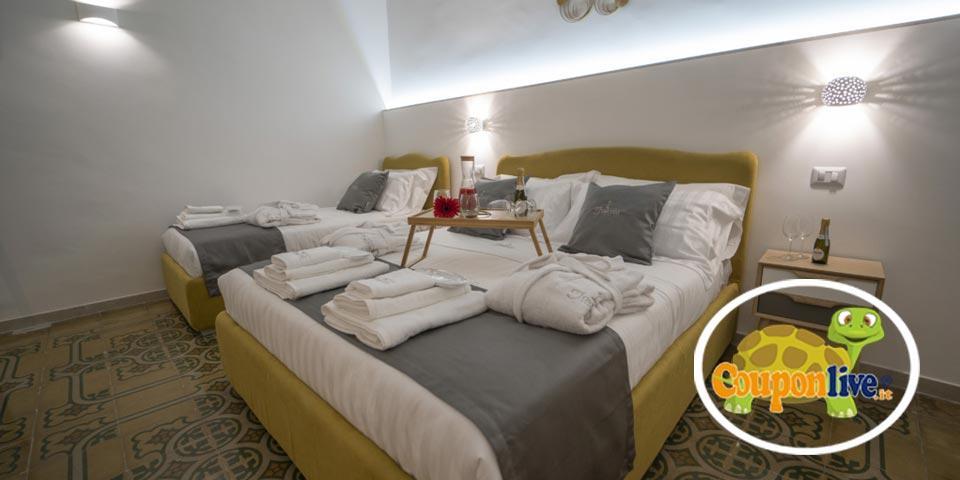BARI. 1 Notte in Suite in Mezza Pensione con Welcome di Stuzzichini a soli Euro 109,00  a coppia, da Dimora Fantasia Charme B&B.