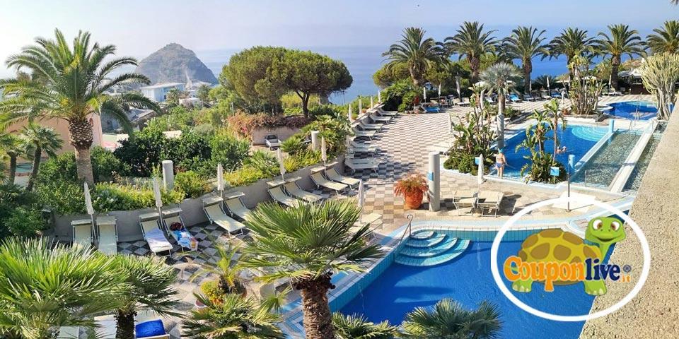 ISCHIA. 1 Notte in Mezza pensione a partire da Euro 169,00 a camera, da Romantica Resort & SPA.