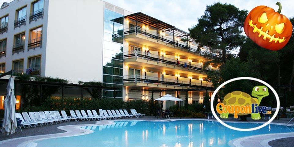 HALLOWEEN. 1 Notte in Pensione Completa a soli Euro 135,00 a coppia, da Nicotel Pineto a Castellaneta Marina.