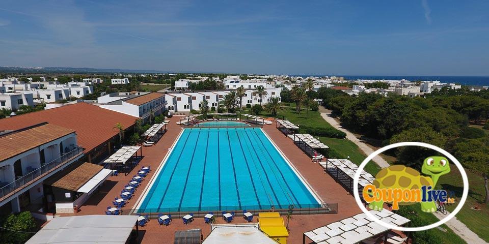 PRENOTA PRIMA,dal 5 al 12 Settembre a Torre Guaceto, 7 Notti in Pensione Completa da Euro 495,00 a persona, da Hotel Club Santa Sabina.