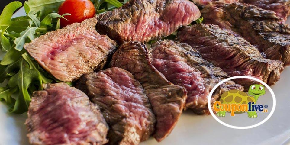 MATERA. Menù Carne con antipasti, grigliata mista, bibite, dessert e digestivo a soli Euro 19,90 a coppia, da Sua Maestà La Carne.
