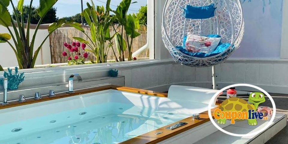 LEPORANO MARINA (TA). 1 Notte in Suite con Mini SPA, a partire da Euro 109,00 a coppia, da Villa la Perla sul Mare.