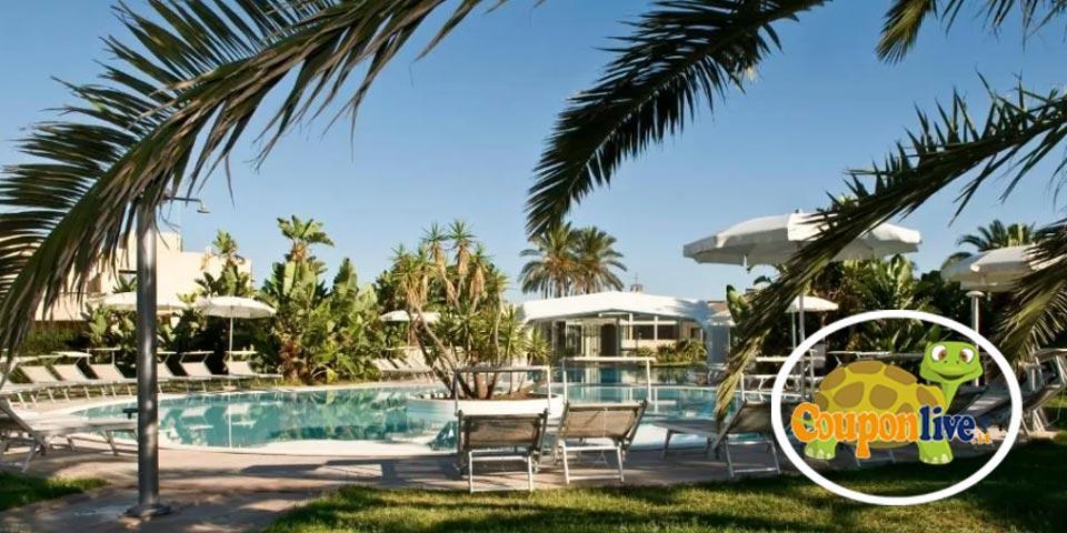 PRENOTA PRIMA, Luglio a Siracusa(Sicilia), 7 Notti in Pensione Completa da Euro 775,00 a persona, da Voi Arenella Resort.