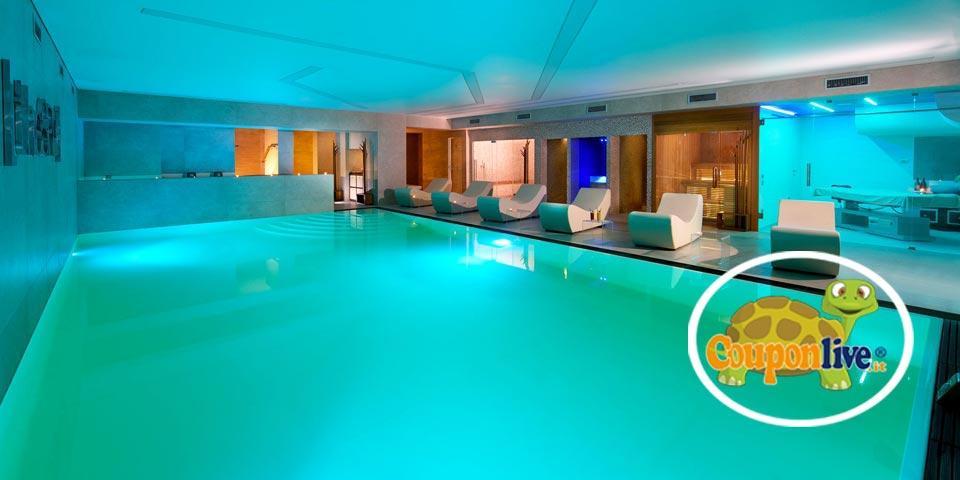 SALERNO. 1 Notte in B&B o in Mezza Pensione con Percorso SPA a partire da Euro 69,00 a coppia, da San Severino Park Hotel.