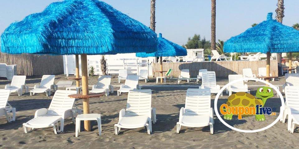 MARGHERITA DI SAVOIA, Ingresso al lido fino a 4 persone a partire da soli Euro 10,00 da Stabilimento Balneare Bagno 72.