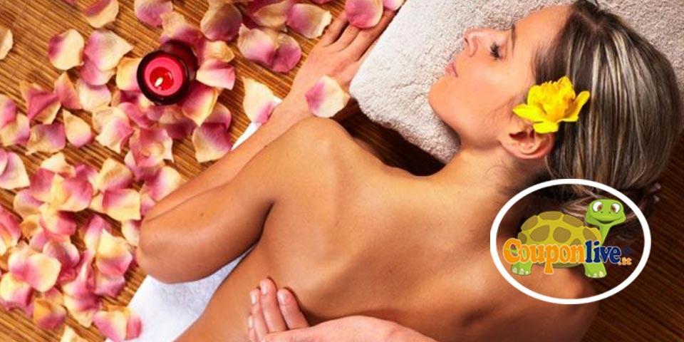 GIOIA DEL COLLE.1 o 3 sedute di Massaggi  della durata  di  40 minuti a partire da Euro 9,00 a persona, da Il Tempio del  Benessere.