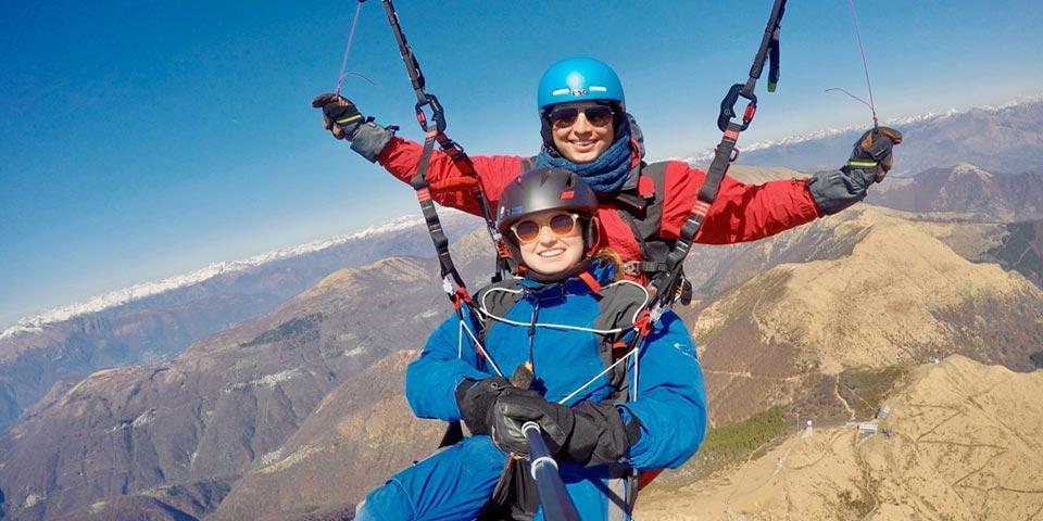 MONTEFALCONE NEL SANNIO. Volo in Parapendio con istruttore e Video ricordo a soli Euro 49,00 a persona,  da Aero Club I  Picchi.