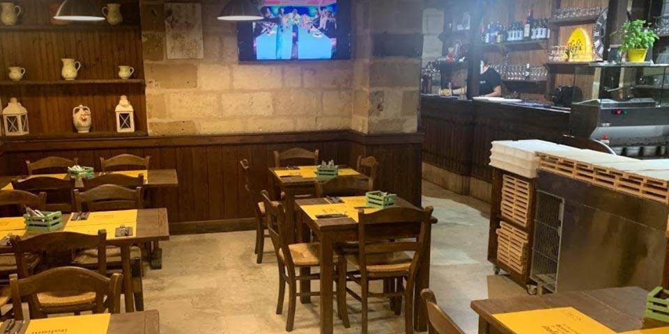 BARI. Menù Pinsa valido tutti i giorni a pranzo e a cena anche il Sabato a partire da soli Euro 19,00 a coppia, da Ciro's il Lattaio.